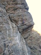 Rock Climbing Photo: Sarah Konopka enjoying some January climbing at th...