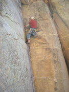 Rock Climbing Photo: Working the clean corner.