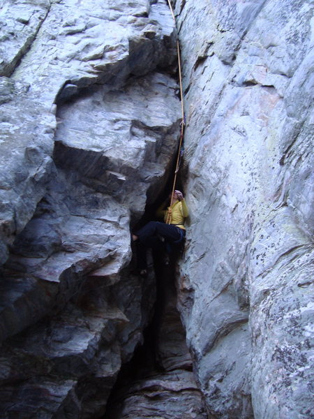 Rock Climbing Photo: Huh?