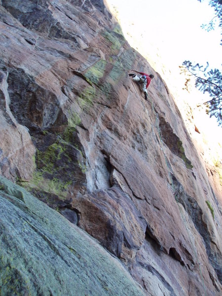 Rock Climbing Photo: Raging....
