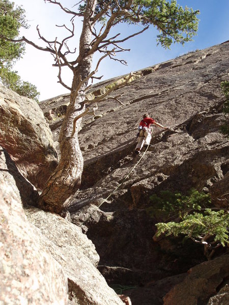Rock Climbing Photo: Lovin' it.