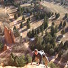 Topping out on the 3rd pitch.