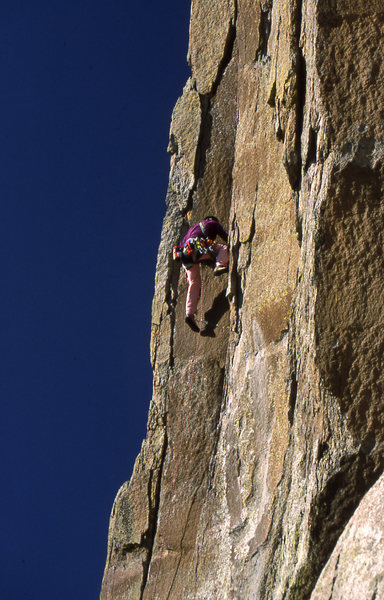 Rock Climbing Photo: Charlie Farrow