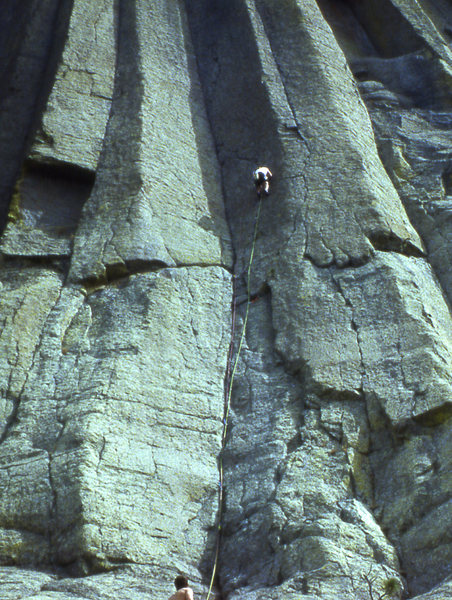 Rock Climbing Photo: Bob Bickford