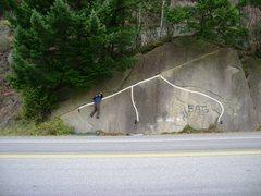 Rock Climbing Photo: 1. The Big Traverse
