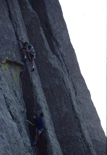 Rock Climbing Photo: Dave Pagel and Roger Volkman