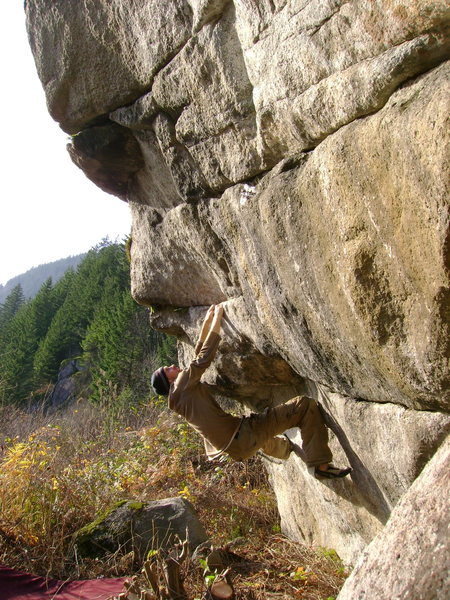 Rock Climbing Photo: South face