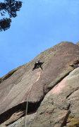 Rock Climbing Photo: Great crack climbing at Turkey Rock Colorado. Too ...