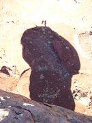 Rock Climbing Photo: Ah the shadow people!