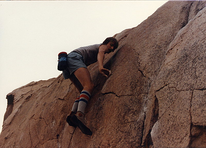 Rock Climbing Photo: Five Niner in the 80's