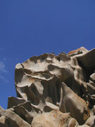 Rock Climbing Photo: Cavernous erosion in granite, Sardinia. Another na...