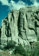 Rock Climbing Photo: City of rocks, Idaho. Delay of Game.