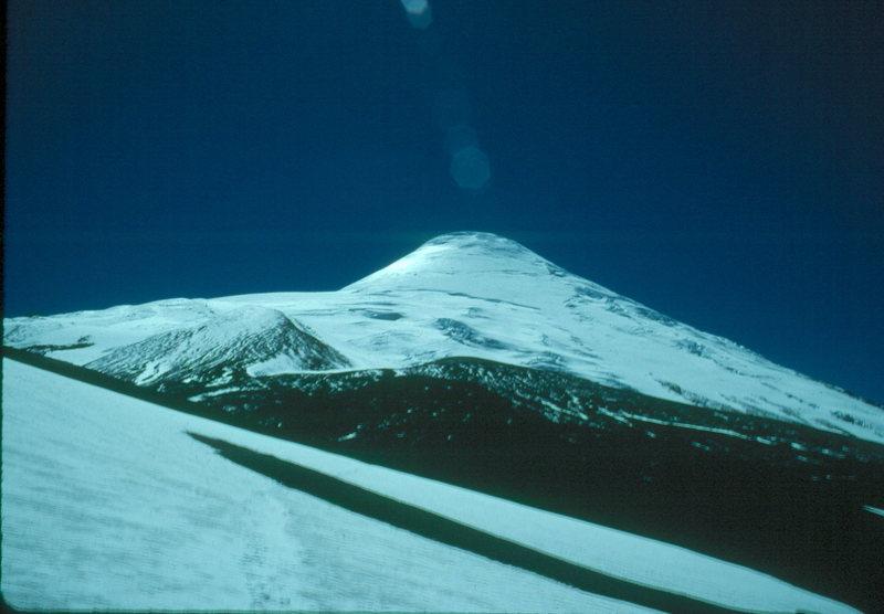 Pucon volcano. Chile