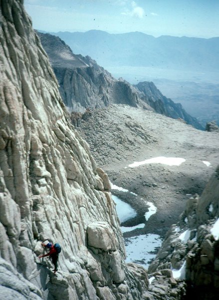 Mt Whitney. East Face. CA