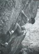 Rock Climbing Photo: CAT on Hollow's Way, Flagstaff.