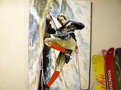 Rock Climbing Photo: My mexican Kor painting