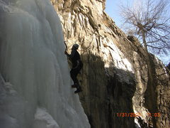 Rock Climbing Photo: 11th hour Spearfish Canyon