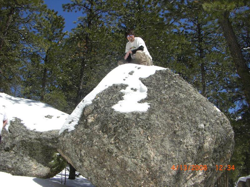 Rock Climbing Photo: Silvan Bouldering Spring08'