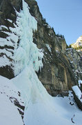 Rock Climbing Photo: Bridalveil Falls, 1st pitch. Feb '09. Photo: Henni...