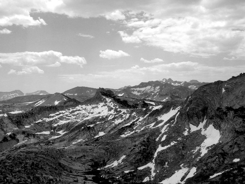 Rock Climbing Photo: The Awsome Veiw from Cathedral peak