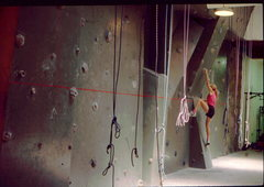 Rock Climbing Photo: In store climbing walls started to appear..