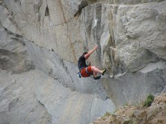 Rock Climbing Photo: You wouldnt want to fall making the second clip