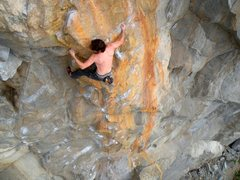 Rock Climbing Photo: Brent on Tangerine Dream