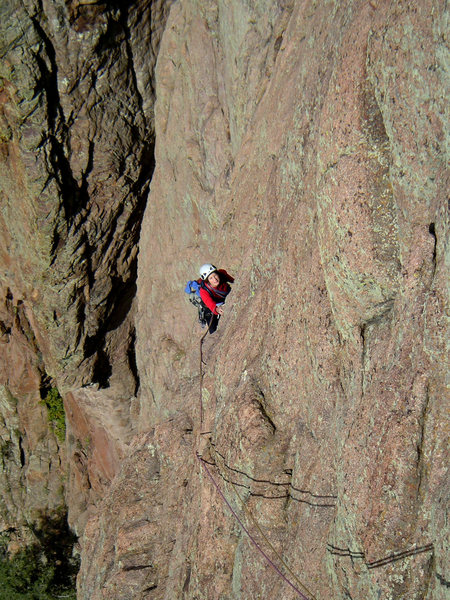 Nancy on the 3rd pitch of Happy Gnome