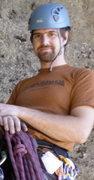 Rock Climbing Photo: Steve at Table Rock, Napa, CA