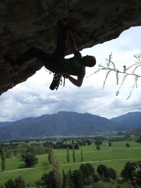 Rock Climbing Photo: Lee on 1080