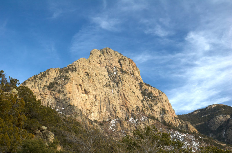 Rock Climbing Photo: Knife-Edge from the Approach