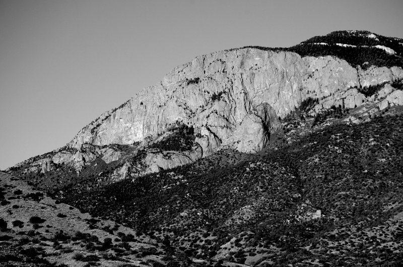 Rock Climbing Photo: The Shield