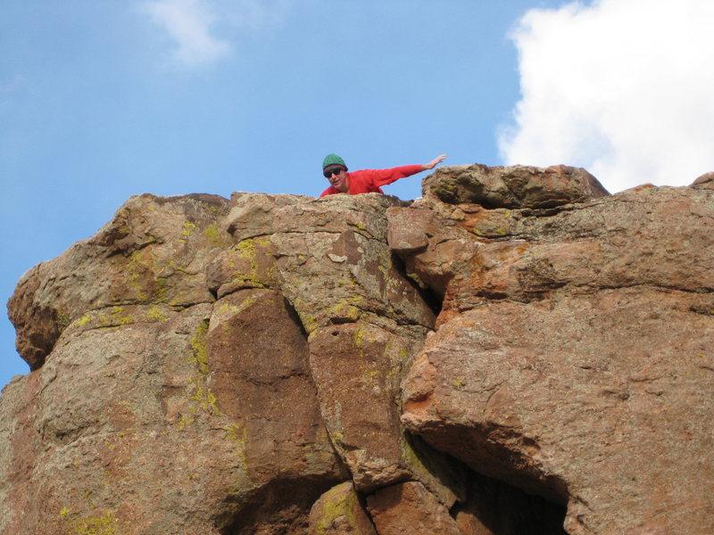 Rock Climbing Photo: carter