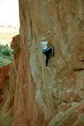 Rock Climbing Photo: Ryan's Inferno. Photo: Stewart Green.