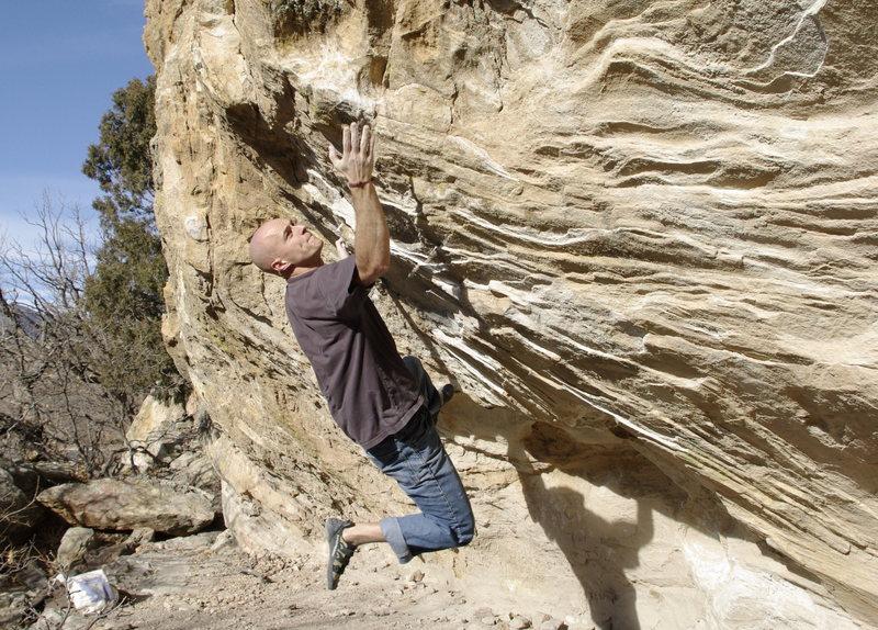 Rock Climbing Photo: Right Unknown. Photo: Mike Sherwood.