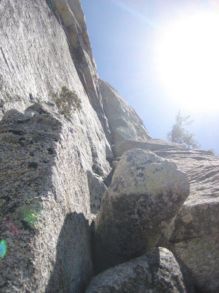 Rock Climbing Photo: 3rd Pitch