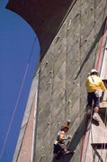 Rock Climbing Photo: Catherine Destiville, going for another championsh...