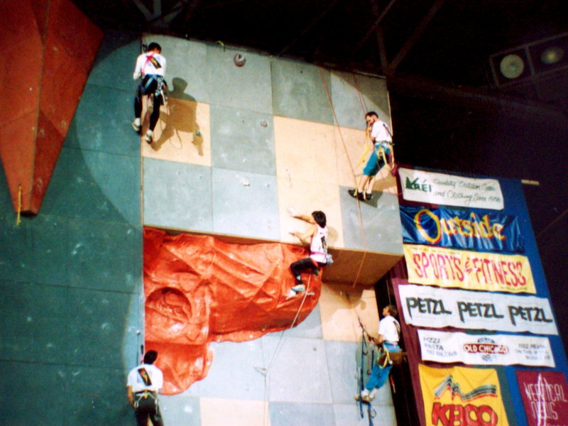 Rock Climbing Photo: Then came the first Continental Climbing Champions...