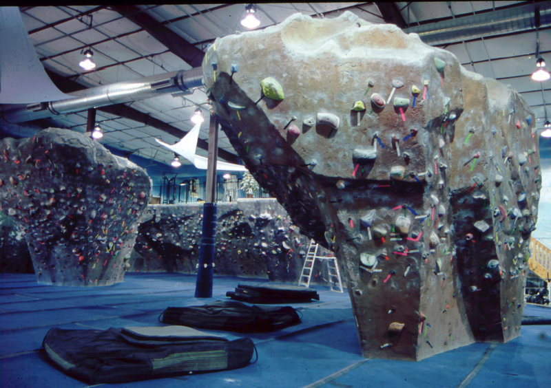 Then Boulder, Colorado got their bouldering gym and club, with awesome bouldering sculptures.