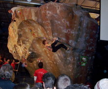 Rock Climbing Photo: Daniel Woods unbeatable when Sharm wasn't around.