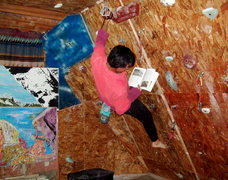 Rock Climbing Photo: Everyone wanted their home gym and making it out o...