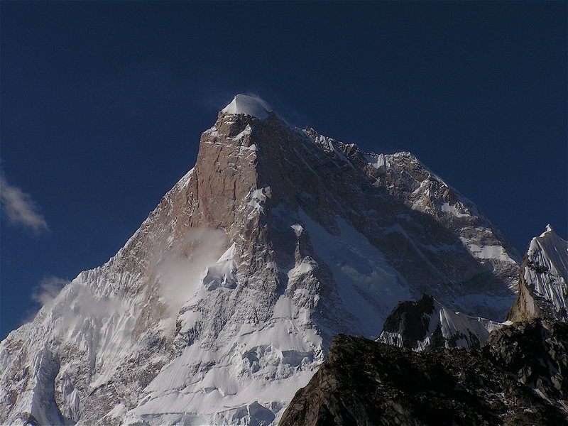 Rock Climbing Photo: Masherbrum West Face