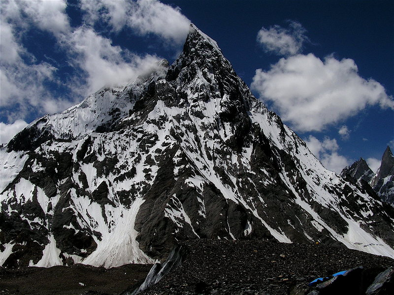 Rock Climbing Photo: Mitre Peak from Concordia