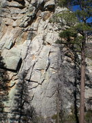 Rock Climbing Photo: The route feels off balance due to the angle of th...