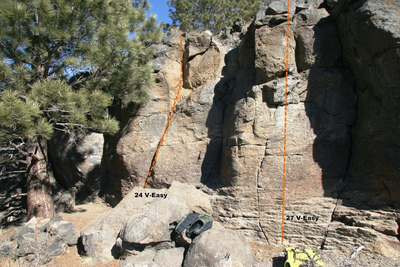 Rock Climbing Photo: Geophysics Wall Topo 8