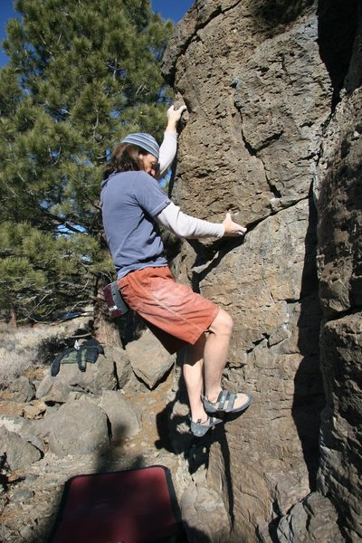 Passing the undercling on Problem 32, V0-
