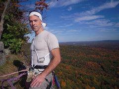 Rock Climbing Photo: Fall foliage, le Gunks 2008