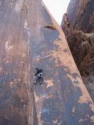 "Rock Climbing Photo: Mado on ""Fernando""."