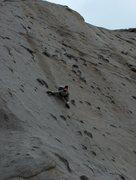 Rock Climbing Photo: Ryan on Bony Fingers