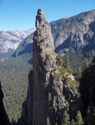 Rock Climbing Photo: Lower Cathedral Spire